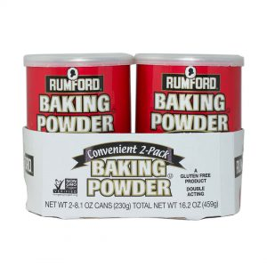 Rumford Baking Powder 8.1 oz, 2-pack